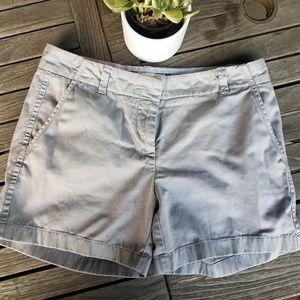 J. Crew Classic Twill Chino shorts size 6